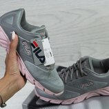 Кроссовки женские Fila Megalite W 2.0 gray/pink