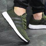 Кроссовки мужские сетка Adidas green