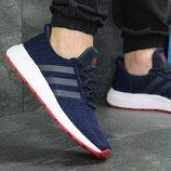 Кроссовки мужские сетка Adidas blue/red