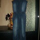 джинсовый комбинезон на 7-8 лет George Джорж