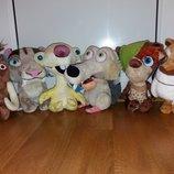 Коллекции мягких игрушек из мультфильмов Дисней Disney.