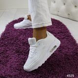 Женские белые кроссовки Nike Air летние