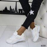 Женские белые кроссовки Nike Air