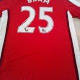 Фирменная футболка .Nike . оригинал . Arsenal. Bram 25.