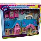 Кукольный домик Animals House пет шоп домик зверушек