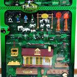 Игровой набор Ферма Farm World 60 элементов