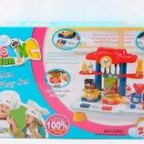 Детская Кухня игровой набор Веселая кухня 29 элементов, звук, свет кухня для маленького шеф-повара