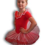 Детский купальник - пачка для гимнастики и танцев.
