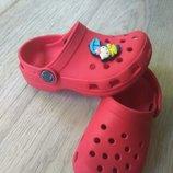 Кроксы Crocs оригинал Мексика, 15см
