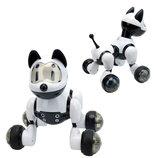 Интерактивная Собака-Робот на р/у MG014 звук, свет, ездит и танцует
