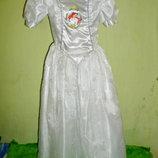 платье принцессы Ариель на 6 лет