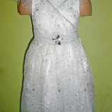платье снежинки,звездочки на 1-2 года