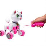 Кот на р/у MG013 звук, свет, ездит и танцует, выполняет команды