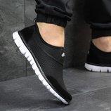 Кроссовки мужские низкие Nike black/white