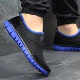Кроссовки мужские низкие Nike black/blue