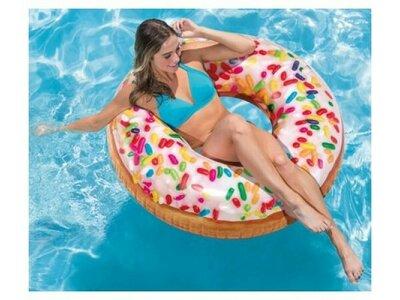 Надувные круги Пончик, целые и надкушенные в наличии