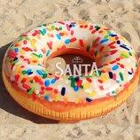 Надувной круг Пончик с присыпкой Intex 56263, 114 см диаметр