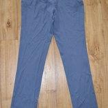 Женские серо-голубые штаны евро 38 22-138 M1