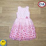 Легкое пышное платье C&A here there 11 лет, 146 см. Состояние нового