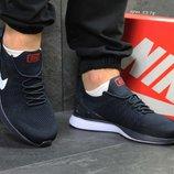 Nike кроссовки темно синие с белым 5378