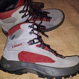 унисекс 39-25.5 замша ботинки Lowa GoreTex