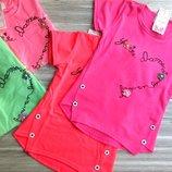нарядные футболки для девочки