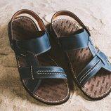 Мужские сандалии из натур кожи