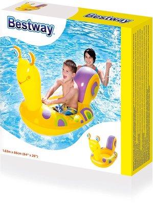 Надувная детская лодка Bestway 34102 Надувной плотик Улитка