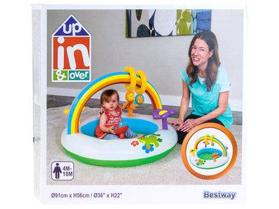 Детский надувной центр Bestway 52239 «Радуга» Бассейн