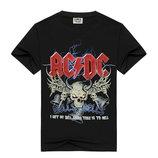 Черные футболки с рок-группами 9 расцветок