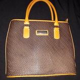 сумка кожа новая Ted Lapidus