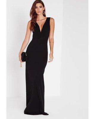 be1ec3a8cd5 Продано  Эффектное черное платье в пол рыбка - женские вечерние ...