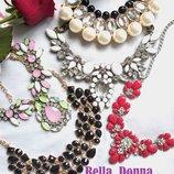 Колье, ожерелье, украшение на шею большой выбор