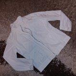 Жакет женский коттоновый белого цвета 48-50 размера летний вариант