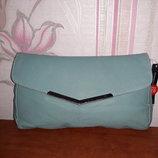 Стильная голубая сумочка, клатч Dorothy Perkins