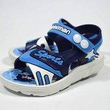 Босоножки пляжные BBT арт.A2630-1 blue
