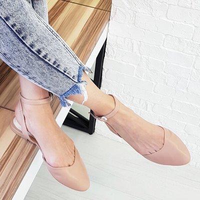 Стильные босоножки с закрытым носком Скидка