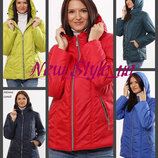 40-72, Демисезонная куртка женская. курточка деми, большие размеры. Куртка ботал Жіноча куртка
