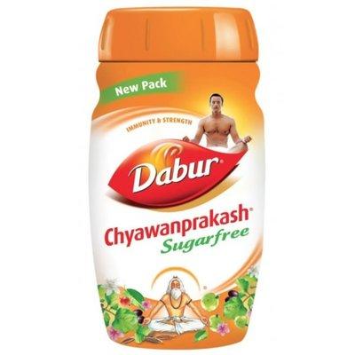 100% оригинал, Чаванпраш для диабетиков без сахара Дабур Dabur Индия