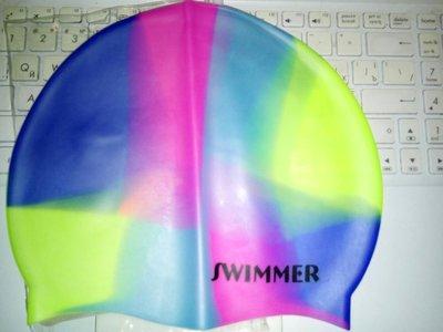 шапочка для плаванья от 7 лет, 4 цвета