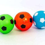 Мяч резиновый футбольный детский 5651 размер 15см 3 цвета