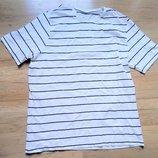 Белая мужская футболка размер XL 22-54 О
