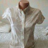 Блузка из тонкого хлопка пастельных оттенков Dunnes Stores 36
