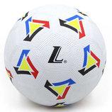 Мяч резиновый футбольный 043 размер 5 резина