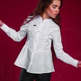 Блуза белая Тм Suzie Р.122-140