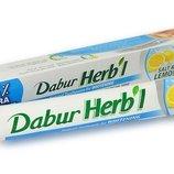 Зубная паста Dabur, Дабур, Salt & Lemon, соль и лимон