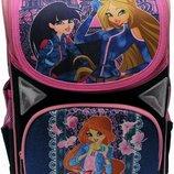 Комплект для девочки. Рюкзак школьный и пенал