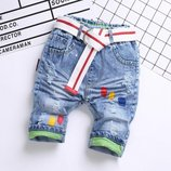 бриджи, джинсовые бриджи