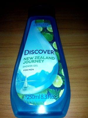 Мужской гель для душа «озера новой зеландии»