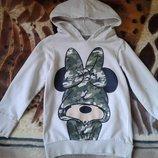 Disney худи-кофта-свитшот девочке 4-6 лет